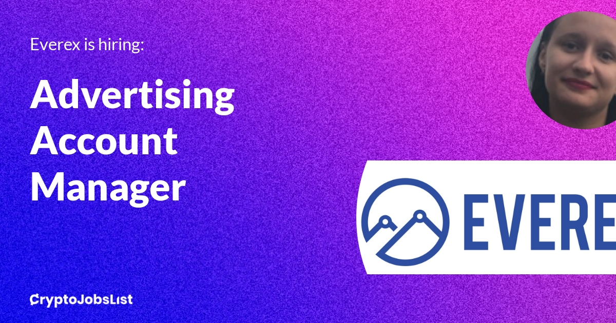 Advertising Account & Community ManagerEverex